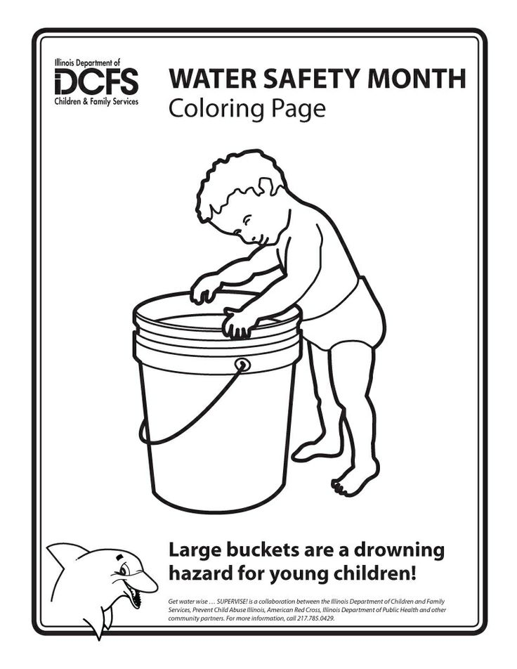 Never Let A Child Play With Barrel Filled Water Can Drown In Less Than Inch Of And Seconds To Download Printable Color