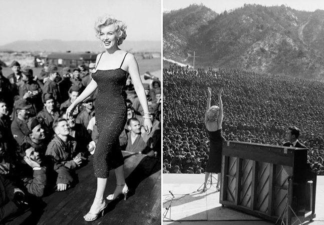 Em janeiro de 1954, a maior estrela de Hollywood da época (e provavelmente de todos os tempos), havia se casado com o maior jogador de baseball da época (e definitivamente de todos os tempos). Para alegria dos paparazzi, das revistas de fofoca e da própria indústria cultural americana e mundial, Marilyn Monroe e Joe DiMaggio trocaram alianças.  Para a lua de mel, escolheram o Japão. DiMaggio, porém, tinha compromissos profissionais no extremo oriente, e Marilyn aproveitou para visitar as…