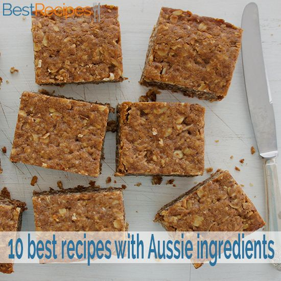 10 best recipes with Australian ingredients. Find the best recipes using Milo, Tim Tams, Weet-Bix, kangaroo, barramundi, macadamias and more!