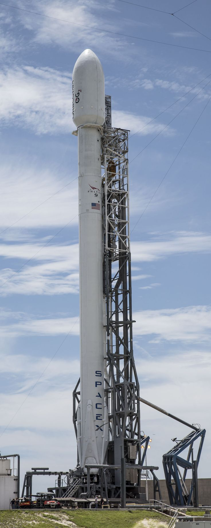 Falcon 9 Launches ORBCOMM OG2 Satellites to Orbit | SpaceX