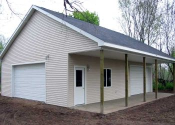 pole barn designs | Barn Plans, Country Garage Plans and Workshop Plans