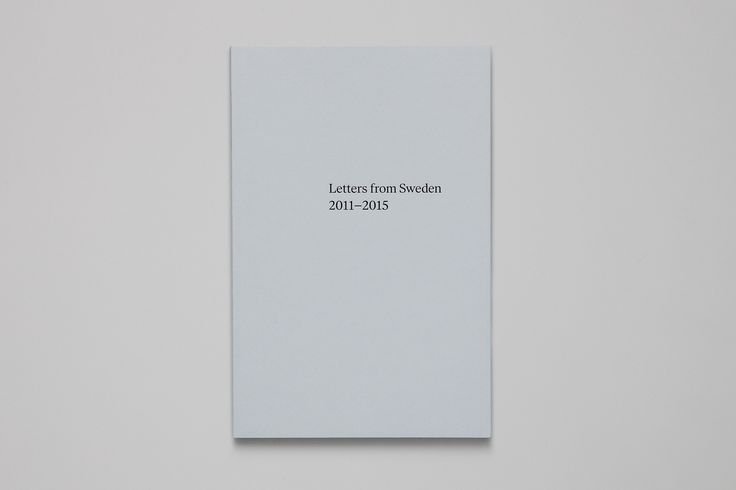 The first in a series of printed specimens for Swedish celebratedfoundryLetters from Sweden, founded byGöran Söderström.Letters from Sweden 2011–2015 is ...