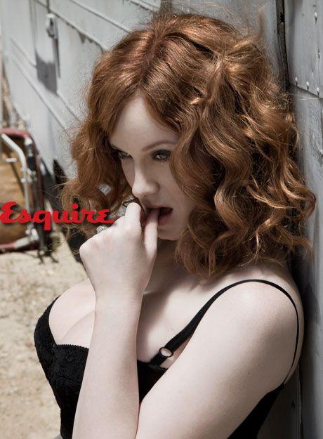 Christina Hendricks For Esquire: Girls Crushes, Sexy Women, Madmen, Mad Men, Hot Redheads Girls, Esquir Magazines, Beautiful People, Christina Hendricks, Beautiful Girls
