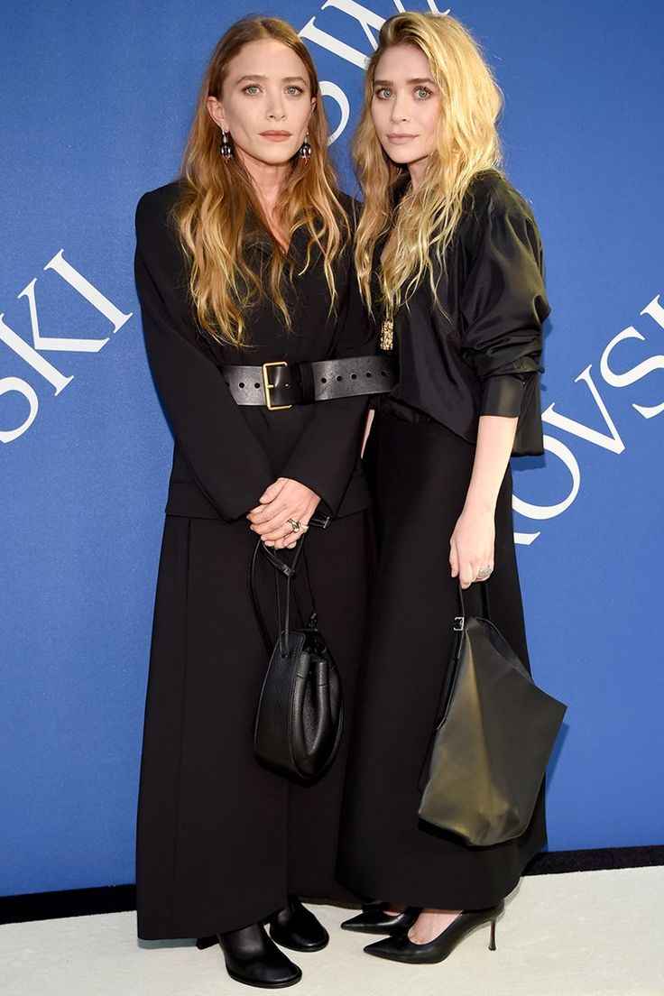 Mary-Kate and Ashley Olsen Showed Up Low-Key Matching at the CFDA Awards