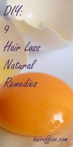DIY: 9 Hair Loss Natural Remedies
