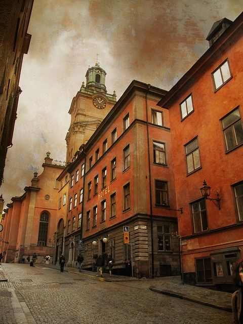 Rainy Day, Stockholm, Sweden photo via sharon