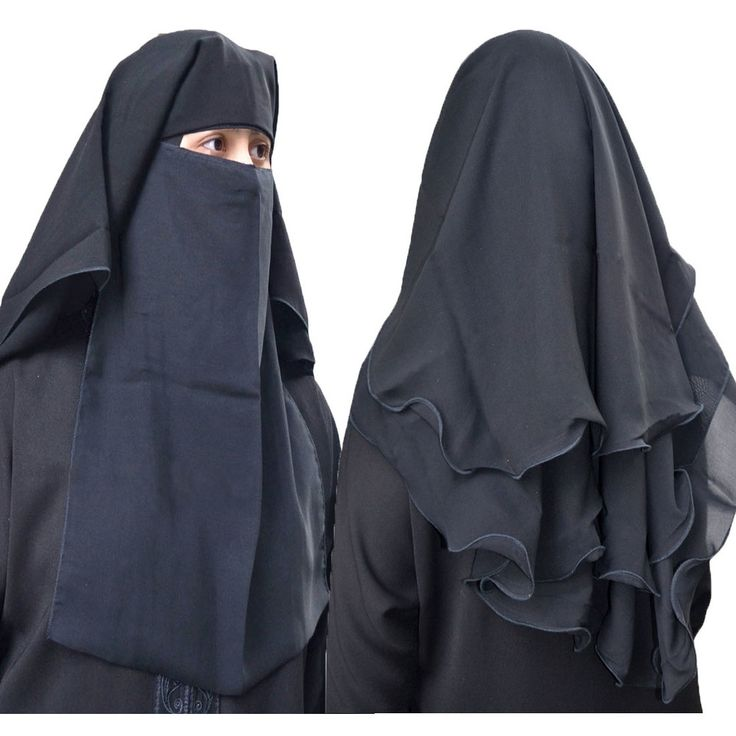 Hayaa Clothing - 4 Layers Fluttery Butterfly Black Saudi Niqab, $19.99 (http://www.hayaaclothing.com/4-layers-fluttery-butterfly-black-saudi-niqab/)