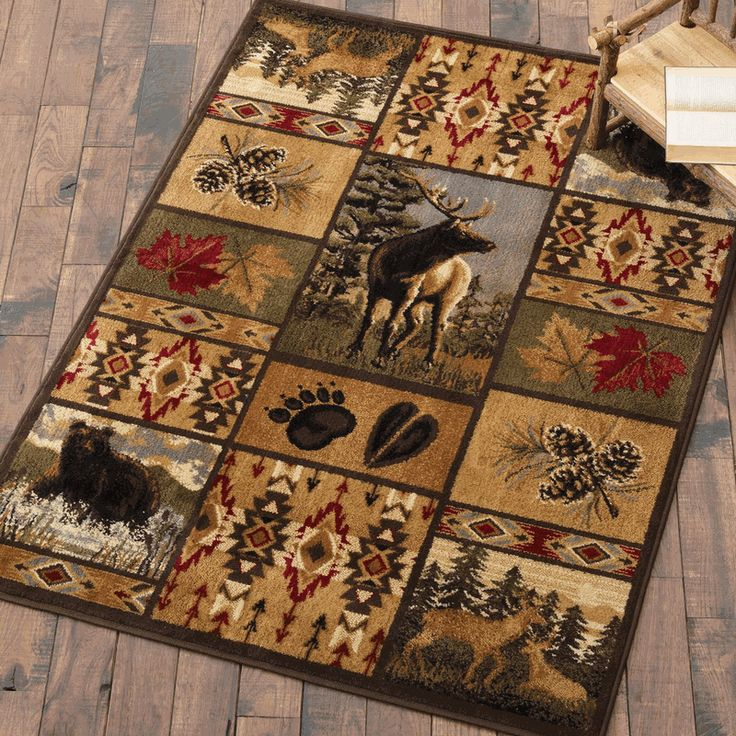 Game Area Rugs: 17 Best Images About Rustic Bedding,rugs,etc On Pinterest