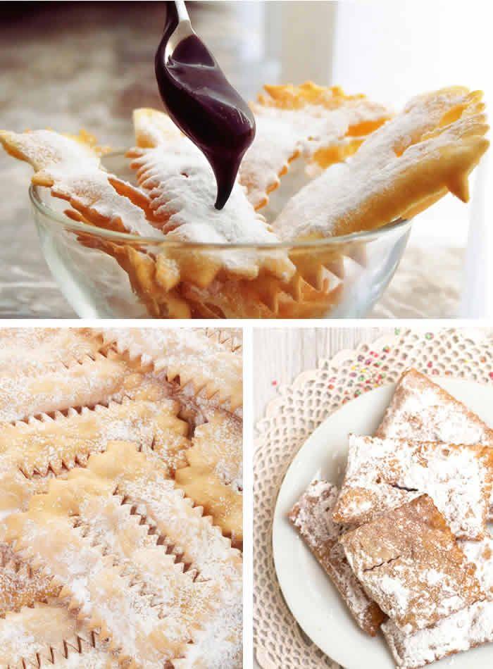 Chiacchiere, frappe, bugie...tanti nomi per un unico dolce, tutto della tradizione di Carnevale! La ricetta su toomaki.info
