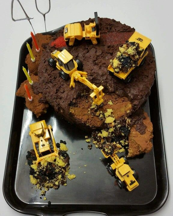 We do digger cakes too!!! Whatever you like!!!