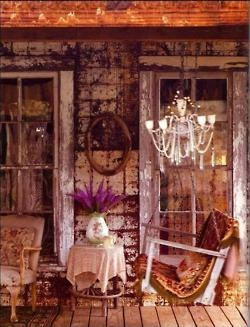 Shabby Chic porchDecor, Living Room Design, Shabby Chic, Bohemian Living Rooms, Magnolias Pearls, Gypsy Life, Bohemian Style, Bohemian Home, Front Porches