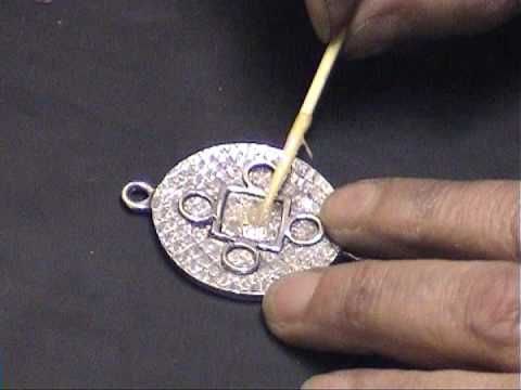 Jewellery making by Gill Clement - YouTube