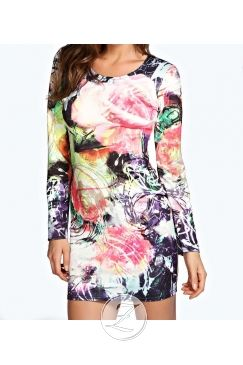 546157853c Extravagantné vzorované šaty - ZUNIQUE.sk - Štýlove oblečenie ...