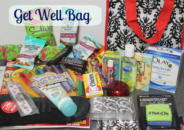 Ideas For Patient Hospital Care Package