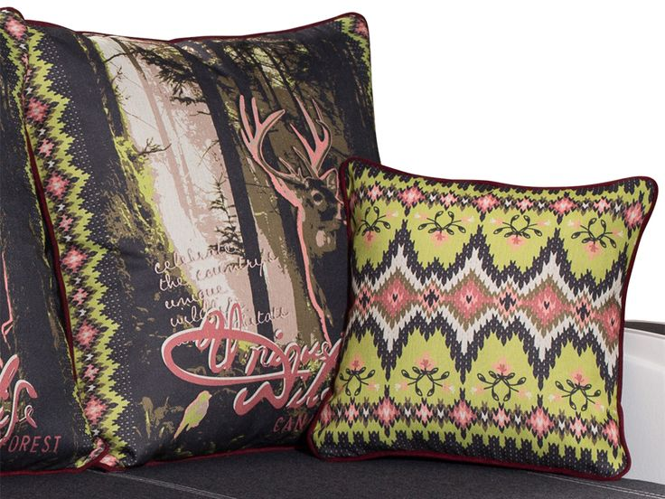 Винтажные подушки для дивана