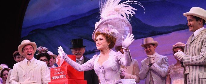 BWW TV: Bernadette Peters Celebrates Her Birthday Onstage at HELLO DOLLY!