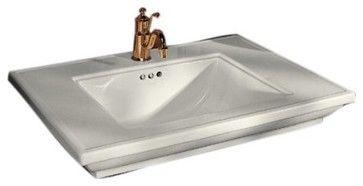 Memoirs Lavatory With Stately Design - Traditional - Bathroom Sinks - Kohler