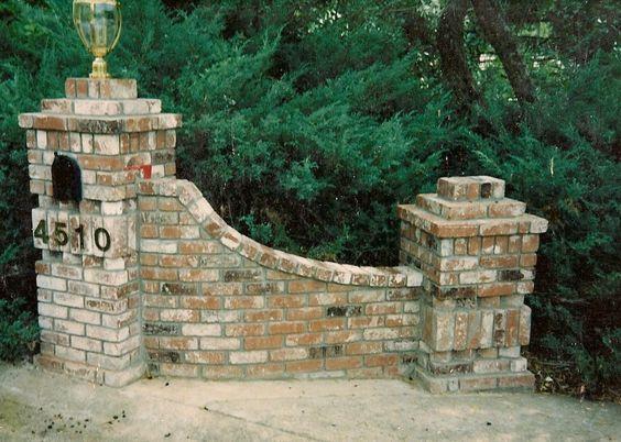 Image result for driveway entrance pillars