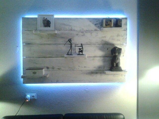 Wandbord met led verlichting mijn projecten pinterest lights - Mezzanine verlichting ...