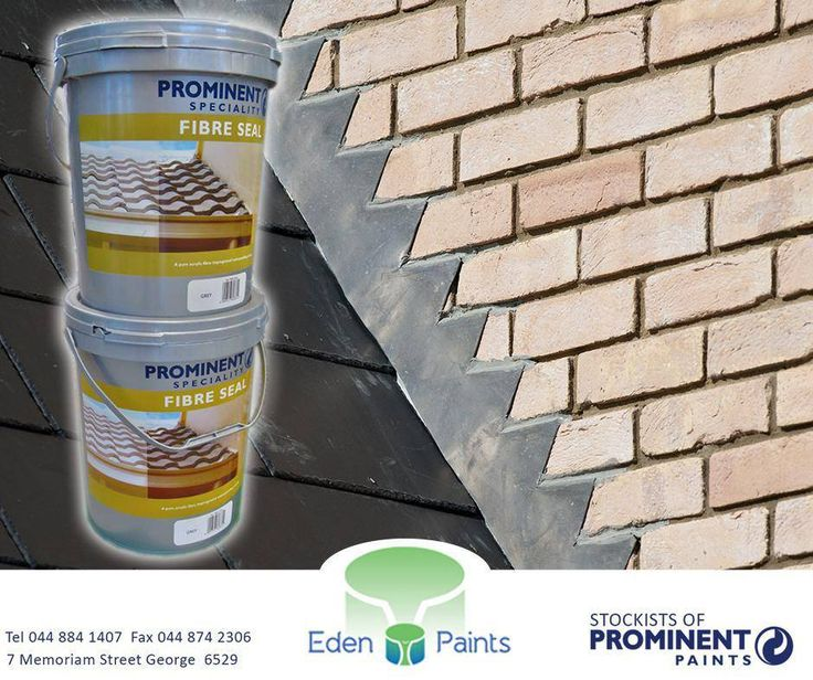 https://www.facebook.com/EdenPaintsCAW/photos/pb.1430826327161612.-2207520000.1425723192./1603365506574359/?type=1Prominent Fibre Seal is a pigmented pure acrylic membrane-free waterproof coating with excellent UV resistance. It's available in the following sizes: 1lt , 5lt and 20lt. Get it now at #EdenPaints #Prominent #FibreSeal