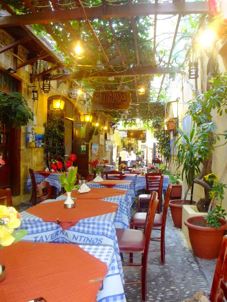 Lovely little restaurant in the old town of Rhodes called Ntinos, beautiful…