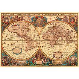 Puzzle de 5.000 piezas Antiguo mapamundi de Ravensburger.  Más info y compra en: http://www.elosito.com/puzzles-rompecabezas-3-d-puzzles-de-3000-a-10-000/10028-puzzle-5000-antiguo-mapamundi-4005556174119.html