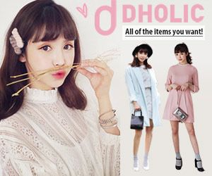 DHOLIC All of the items you want!のバナーデザイン