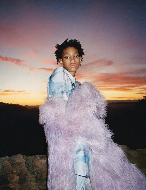 Willow Smith in Fluorescent Adolescent by Tyrone Lebon for i-D Magazine (pre-fall 2015)