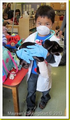 vet clinic in dramatic play