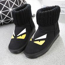 Kadın Çizmeler Kış Yüksek Kaliteli Deri Sonbahar Kar Ayakkabı Kadın Siyah Hakiki Peluş Bahar Fringe Kadın Bilek Punk Bot Çalışmak(China (Mainland))