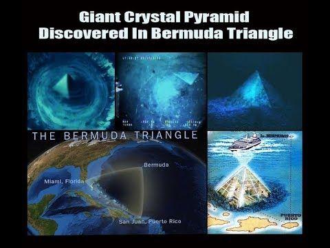 Satanaz Está Preso No Triangulo das Bermudas Em Piramides de Cristal  Gi...