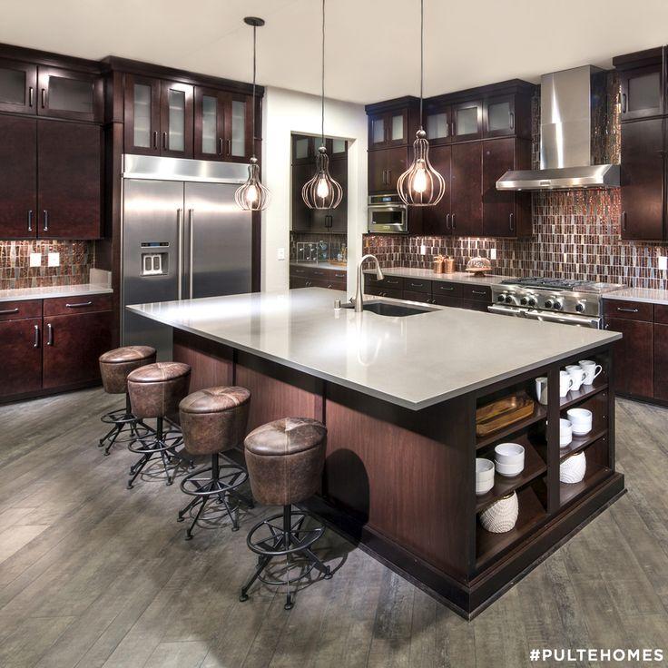 Designer Kitchens Dark Cabinets 97 best kitchen designs images on pinterest | pulte homes, kitchen