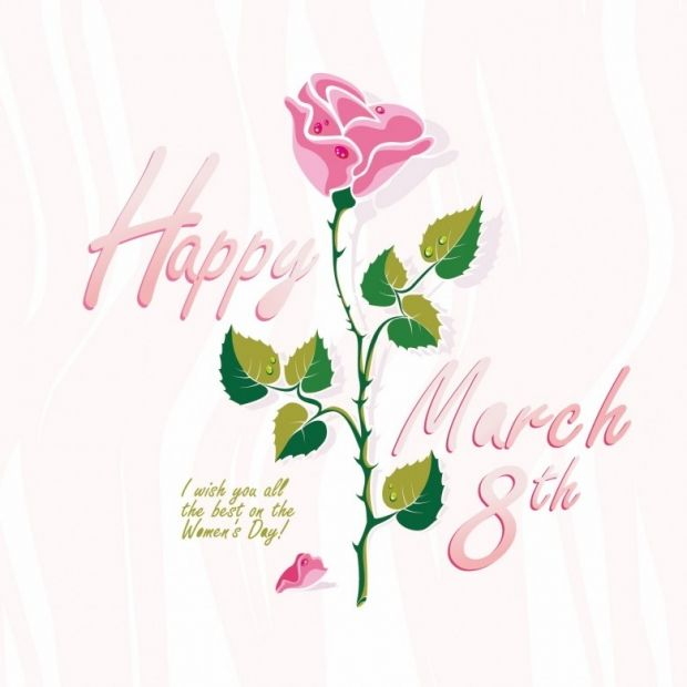 I wish You All The Best On the Women's Day
