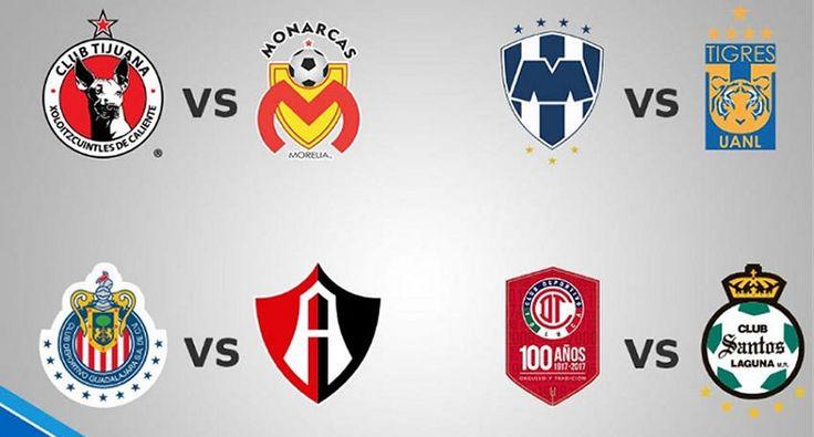 Xolos contra Monarcas, Monterrey contra Tigres, Chivas contra Atlas y Toluca contra Santos, los duelos a jugarse esta semana en cuartos de final – Ciudad de México, 07 de mayo ...