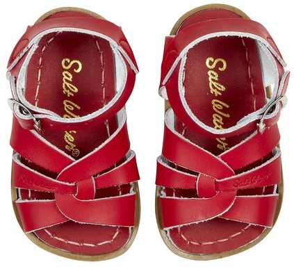 tiny salt-watersSalts Water Sandals, Salt Water Sandals, Originals Sandals, Red Shoes, Saltwater Sandals, Baby Sandals, Baby Girls, Kids, The Originals