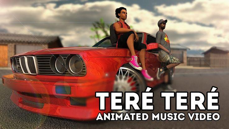 Toofan - Teré Teré | Animated Music Video | Tlatso-Son