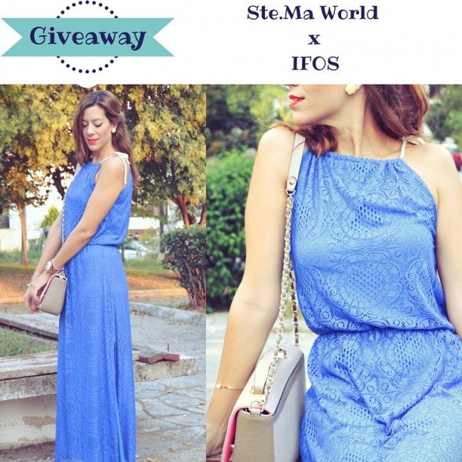 Ifos maxi dress Giveaway