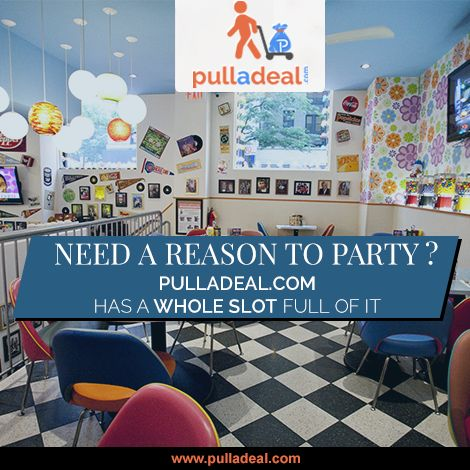 ‪#‎Book‬ a slot and get ‪#‎awesome‬ discounts at ‪#‎classy‬ restaurants and bars in Delhi/NCR only at www.pulladeal.com