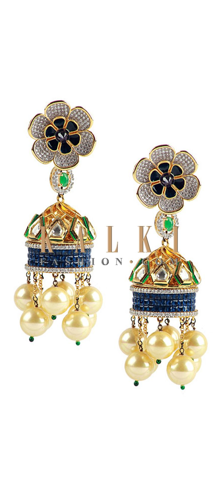 Buy Online from the link below http://www.kalkifashion.com/fusion-jhumkas.html