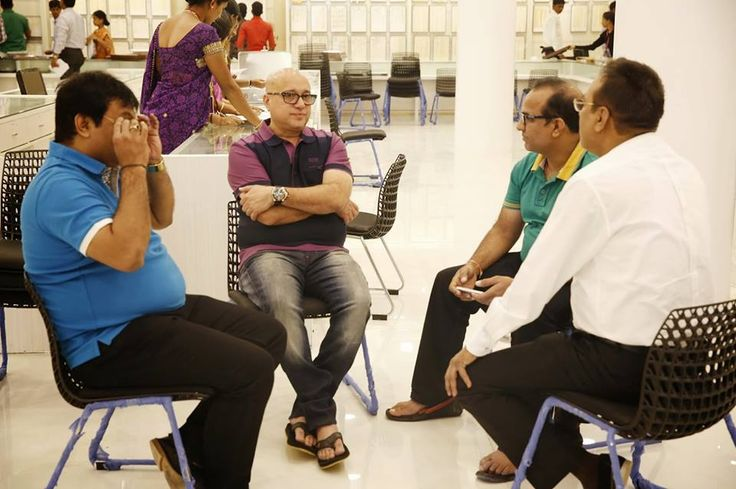 #kirankumar #lalithaajewellery A creative man is motivated by the desire to achieve, not by the desire to beat others.