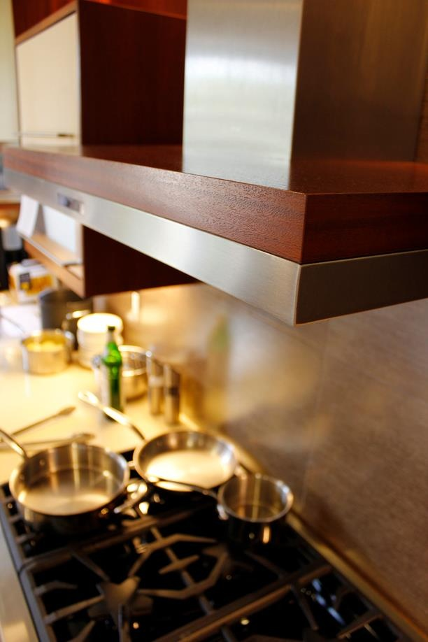 zephyr imkdc dream dinner demo featuring duo wall mounted range hood part of - Zephyr Hoods