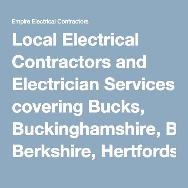 The 12 best electricals interesting related posts images on local electrical contractors and electrician services covering bucks buckinghamshire berkshire hertfordshire and more asfbconference2016 Choice Image