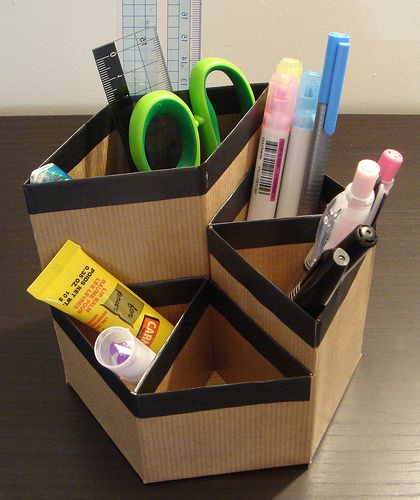 25 Best Ideas About Cardboard Organizer On Pinterest