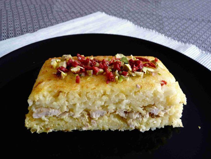Perská šafránová pečená rýže s kuřetem TANCHIN / Ochutnejte svět - blog mezinárodní kuchyně