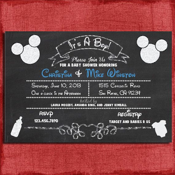 44 Best Baby Shower Images On Pinterest Mickey Mouse Baby Shower