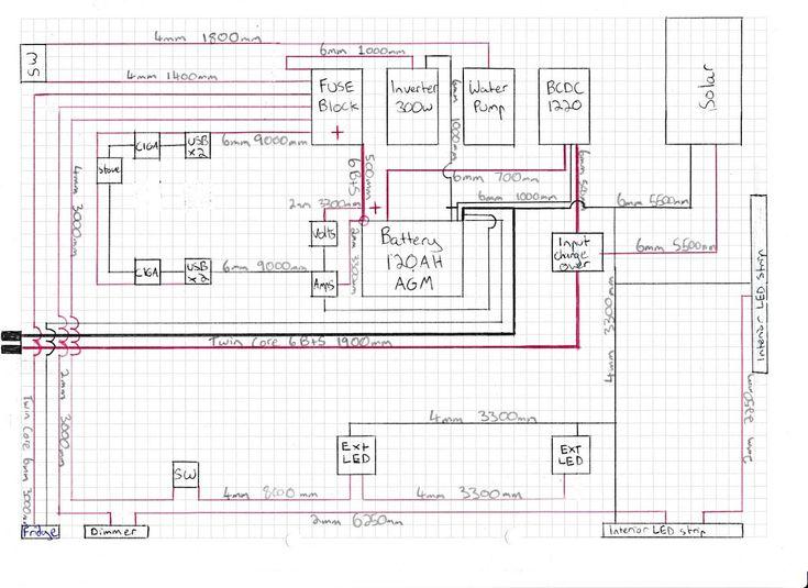 Camper Trailer Rebuild Designing an Electrical System