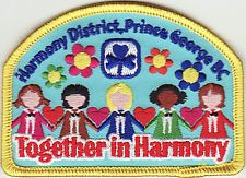 Harmony District Patch #1, Rivers North Area, Girl Guides of Canada, GGC
