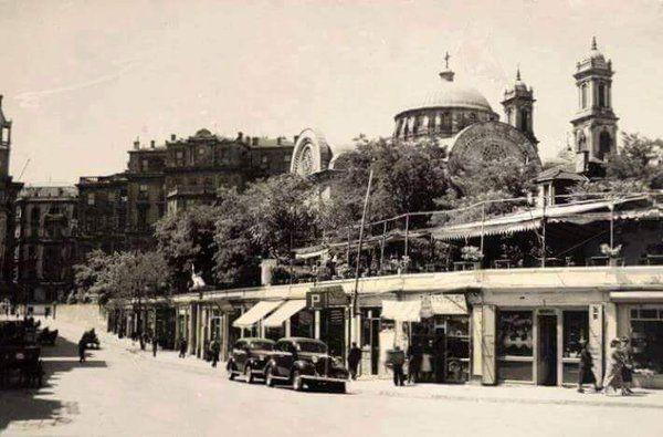 Sıraselviler (1940'lı yıllar) Taksim #birzamanlar #istanbul #oldpics #istanlook