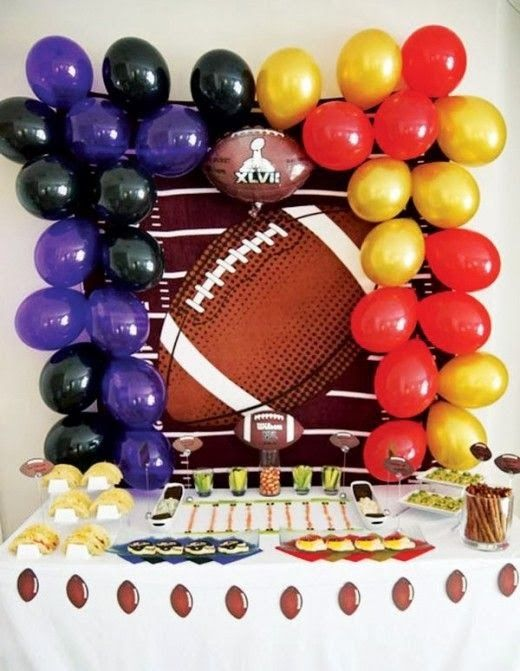 Futbol Americano - Decoración De Fiestas De Cumpleaños - Superbowl : Fiestas y todo Eventos