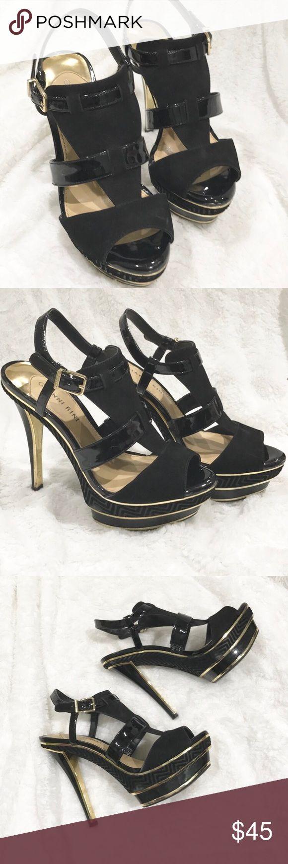 Gianni Bini Black Heels Practically new gianni bini heels Gianni Bini Shoes Heels